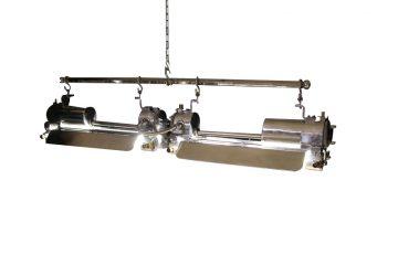 Eclairage industriel vers 1950 I6722 Paire