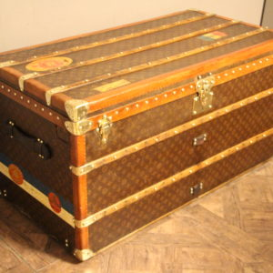 Malle Louis Vuitton courrier monogram 110 cm