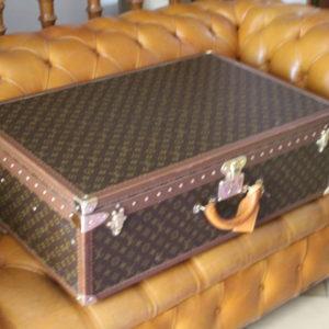Valise Louis Vuitton Alzer 80 cm en toile monogrammée