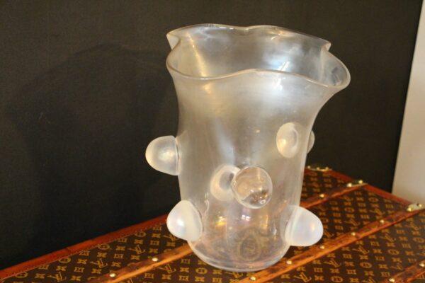 grand vase Verre de Murano Cenedese